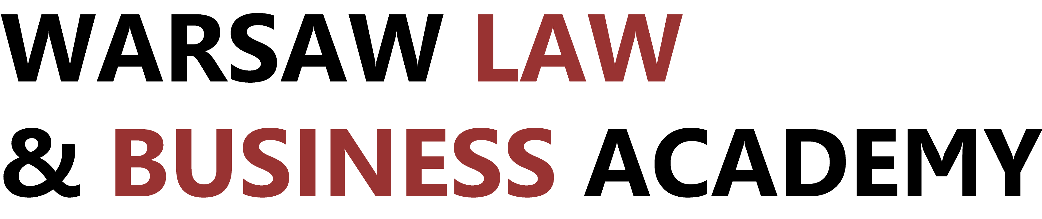 warsaw law and business academy logo